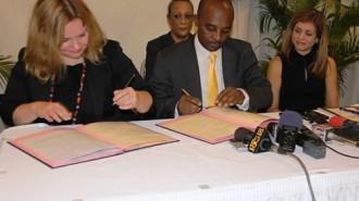 imageSignature Accord Haiti-Finlande