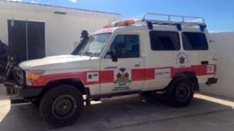 Image 2 ambulance offerte au Centre Hospitalier de Sabourin Cameau