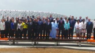 Photo 2 Souvenir mouvernements%20a%20%20l'inauguration%20du%20# MemorialACTe en Guadeloupe