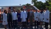 Le navire-hôpital américain «USNS Comfort» en Haïti pour une mission humanitaire