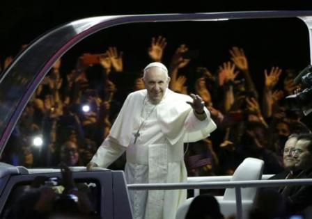 Image 2  du Pape François à Philadelphie