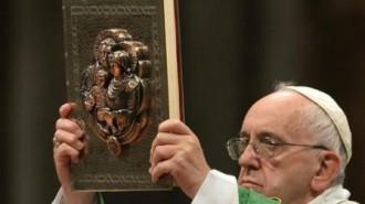 Photo du Pape François Synode 2
