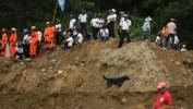 Guatemala: 600 disparus dans un glissement de terrain, recherches suspendues