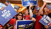 Primaire démocrate: Hillary Clinton remporte, de peu, le Nevada