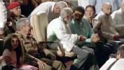 Fidel Castro apparaît en public pour ses 90 ans et critique Obama