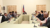PostMatthew: Le Président Privert rencontre les principaux partenaires du secteur agricole
