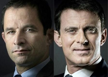 IMG 2 Hamon et Valls