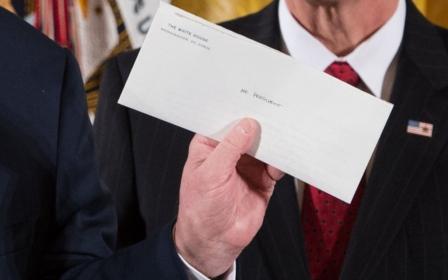 IMG 2 Trunp évoque la magnifique lettre d'Obama 22 Janvier 2017