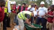 Démarrage du chantier de reconstruction du Centre de Formation Classique de Panyol