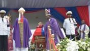 Funérailles nationales de l'ex-président René Préval