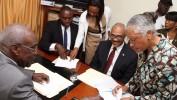 Le sénat haïtien reçoit les pièces du Premier ministre Jack Guy Lafontant