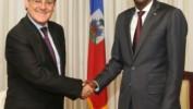 Le Président Moïse reçoit les lettres de créance du nouvel Ambassadeur du Chili accrédité en Haïti