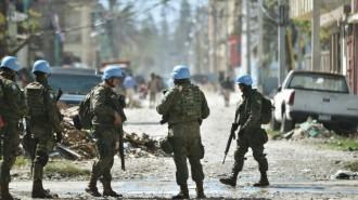 IMG Casques bleus Haïti
