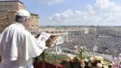 Le Pape implore Dieu pour la paix au Moyen-Orient dans son message pascal
