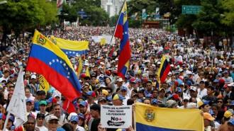 IMG Manifeattion du 1er Mai 2017 au Venezuela