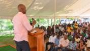 Caravane du Changement: Le Président Jovenel Moïse rencontre les propriétaires de moulins de l'Artibonite