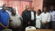 La Radio Nationale d'Haïti reçoit la visite du diplomate américain Indran Amirthanayagam