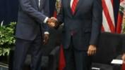 Le président Jovenel Moïse rencontre le Vice-président américain Mike Pence à Miami
