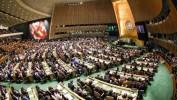 A l'ONU, plus de 50 pays signent un traité interdisant l'arme nucléaire
