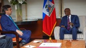 Fructueuse rencontre entre le Président Moïse et le Président de la BID Luis Alberto Moreno