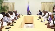 Le Président Jovenel Moïse rencontre les représentants du secteur vaudou