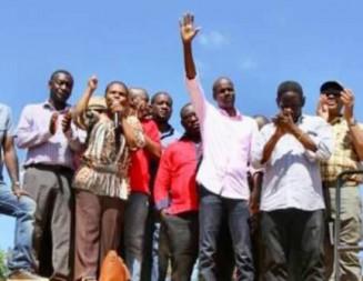 La Grand'Anse reçoit du Chef de l'Etat Jovenel Moïse ses équipements pour la caravane du changement