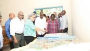 Visite d'exploration du Président Jovenel Moise au Parc de Martissant