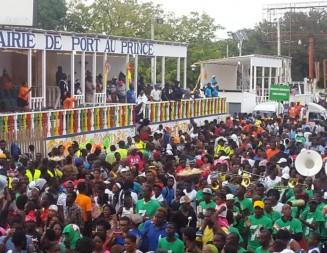 Le premier jour du carnaval national 2018 sans incident majeur malgré des blessés