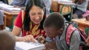 L'ambassadeur Michèle Jeanne Sison se réjouit du partenariat solide entre les Etats-Unis et Haïti sur le plan éducati