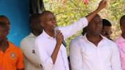 Inspection de chantiers du Président Jovenel Moïse dans le cadre de la Caravane du changement