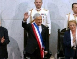 Le Conservateur Sebastian Pinera investi président du Chili