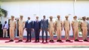 Le Président Jovenel Moise installe les six autres membres de l'Etat-major des FADH