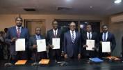 Investiture des 5 nouveaux ministres par le Chef du gouvernement Jack Guy Lafontant