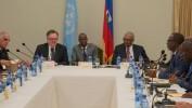 Le Groupe consultatif ad hoc du Conseil économique et social des Nations Unies en mission en Haiti