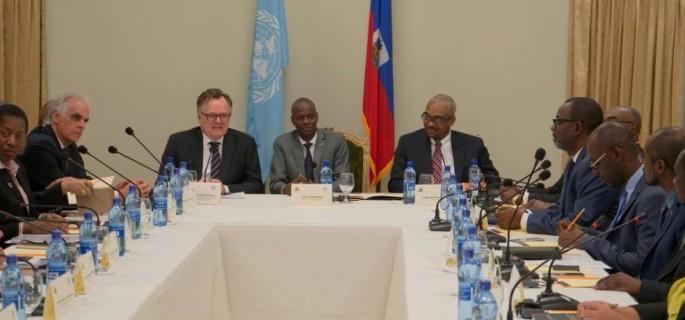 IMG 2 Rencontre du Pdt JM avec les membres de l'ECOSOF