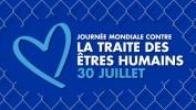 Journée mondiale de la lutte contre la traite d'êtres humains, 30 juillet 2018