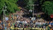Barcelone: Des milliers de manifestants réclament la libération des indépendantistes
