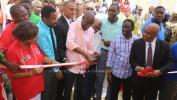 Le Président Moise Inaugure le nouveau local du Centre de Formation Professionnelle et Technique de Jacmel