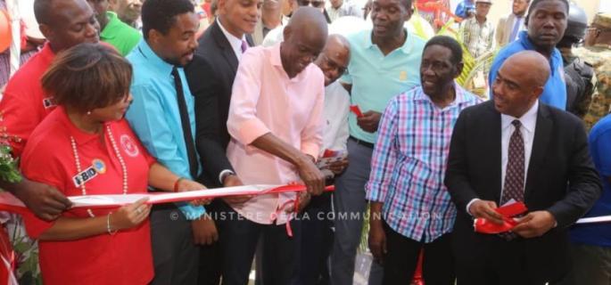 IMG Inauguration du Centre de Jacmel 29 Juin 2018