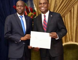 Présentation officielle du Premier ministre nommé Jean Henry Céant à la nation