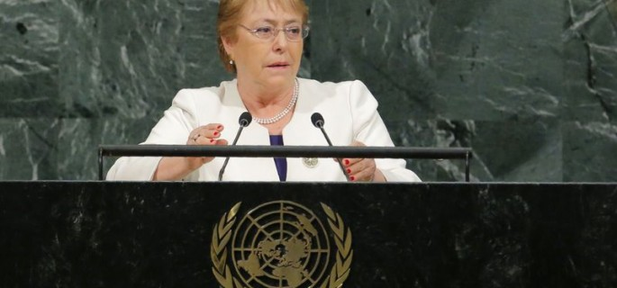 Photo 2 Michelle Bachelet 9 Septembre 2018