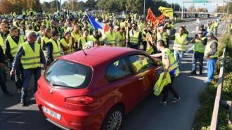 IMG 2 Gilets Jaunes en France Samedi 17 Novembre 2018