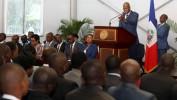 Le Président Jovenel Moïse accueillle les 100 ingénieurs et architectes, lauréats du concours de l'OMRH