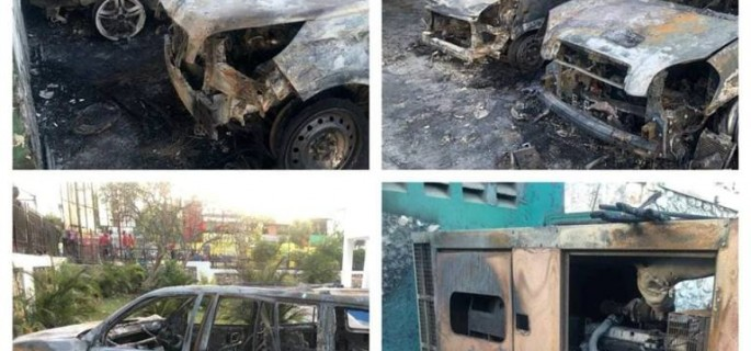 IMG 2 TNH Véhicules incendiés Mercredi 13 Février 2019