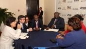 Le Président Jovenel Moise se réjouit de sa participation au forum Latin-America-Panama 2019