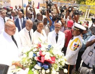 Célébration officielle des 216 ans du drapeau haïtien à l'Arcahaie