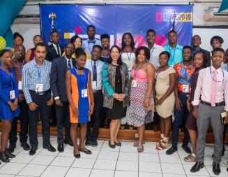 Deuxième camp annuel de technologie de l'Ambassade des États-Unis pour les zones de Cité Soleil, Bel Air et Martissant