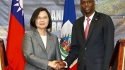 Visite de la Présidente de Taiwan Tsai Ing-Wen en Haiti