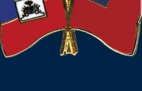 Drapeaux Haiti et Taiwan