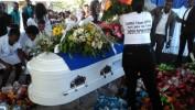 Funérailles émouvantes du journaliste Néhémie Joseph à Mirebalais
